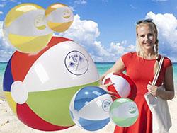 Opblaasbare strandbal ø 30 cm