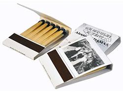 1.000 luciferboekjes 39 x 50 x 8 mm 20 lucifers