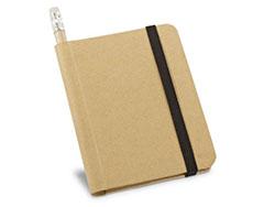 Notitieboekje van gerecycleerd papier wilbert
