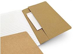 Notitieboekje van gerecycleerd papier rufus