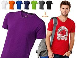 V-hals t-shirt 200 gr