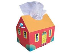 Tissue doos 'huis'