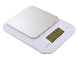 Digitale keukenweegschaal capaciteit: max. 3 kg