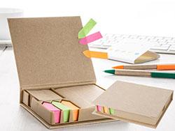 Gerecyclede papieren notitieboek eco