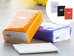 10 tissues van 3 lagen in plastic hoesje