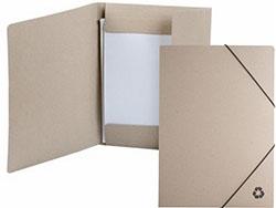 Documentenmap gemaakt van gerecycled karton