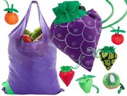 Winkeltas in de vorm van fruit