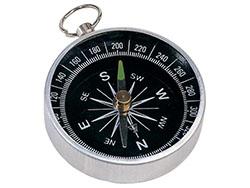 Metalen kompas met ring