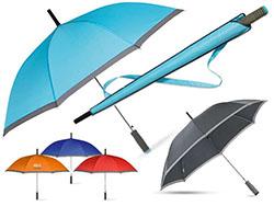 Automatische paraplu in hoes met eva handvat