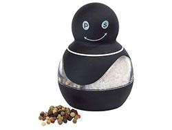 Peper en zoutmolen met rubber coating