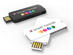 Memory-stick smart twist 4 gb