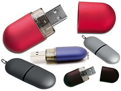 Usb-stick in capsule vorm 4gb