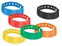 Armband met drukknoop