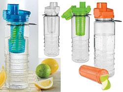 Drinkbeker met fruitcompartiment 700 ml