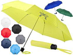 21.5 '' 3 section opvouwbare paraplu 97 cm volga