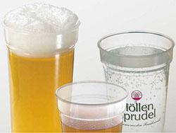 Drinkbeker 300 ml stapelbaar en breekvast