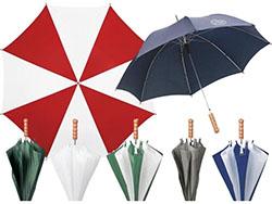 Paraplu met automatische telescoopvering marvin