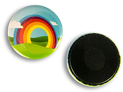 Button 25 mm met magneet