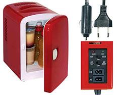 Mini koelkast voor 6 stuks 033 liter blikjes
