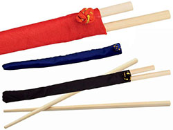 Set chopsticks van bamboe