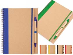 Notebook 60 pagina's recycled papier
