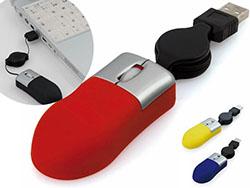 Optische mini muis met verlengbare kabel