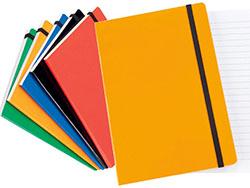 Notitieboek a5 trino met 80 blaadjes