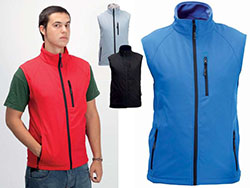Waterdichte soft shell jacket 300 gr/m² s-xxl