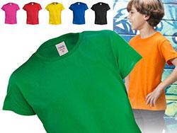 Kinder t-shirt,100% katoen,135 gr/m²,4