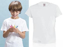 Kind t-shirt,100% katoen,135 gr/m²,4-6