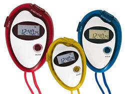 Digitale stopwatch met nylon nekkoord