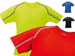 T-shirt 100% polyester 135 gr/m², cubi