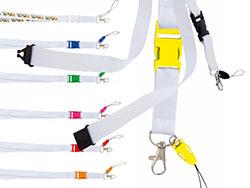 Lanyard polyester met veiligheidssluiting surix