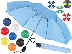 Opvouwbare, 2 secties paraplu lanka