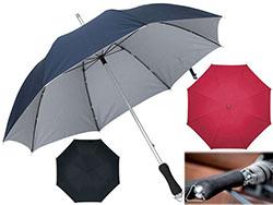 Paraplu taner met aluminium steel, fiberglas balei