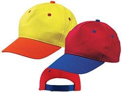 5 panel katoenen baseball cap voor kinderen