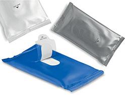 10 vochtige verfrissingsdoekjes in een zakje
