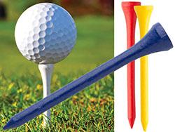 Houten golf tee
