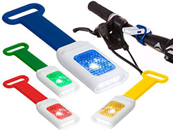 Zaklamp nesy siliconen band, 4 led lampjes