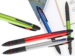 3-kleuren stylus pen