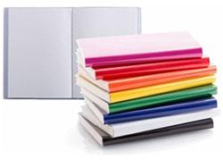 Notitieboek a6, pvc kaft, 100 blad