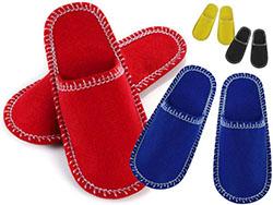Uniseks-slippers maten 37-39 en 41-43