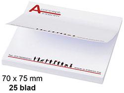 Memoblaadjes 70-75 mm 25-blad
