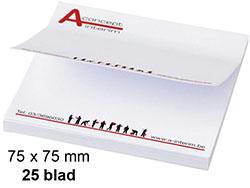 Memoblaadjes 75-75 mm 25 blad