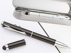 Laserpointer met balpen, stylus hebe