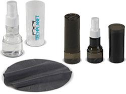 Dispenser met reinigingsvloeistof (30ml) voor bril
