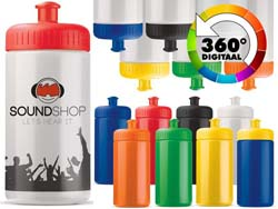 Sport bottle lekvrij 500 ml