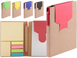 Notitieboek van gerecycled papier met 70 blz