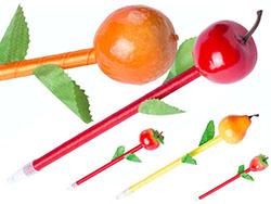 Fruit balpen zwartschrijvend