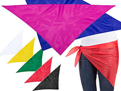 Polyester bandana 120 x 80 cm